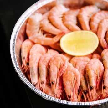 Креветки з трьома соусами