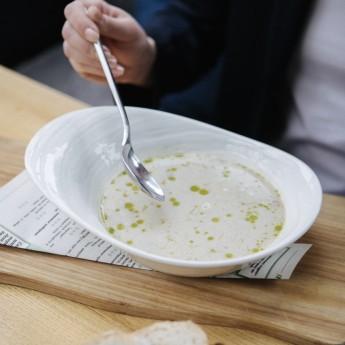 Карпатський суп з білими грибами