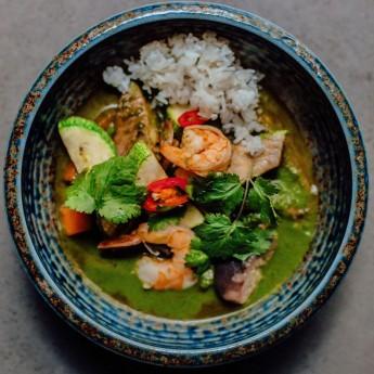 Тайське зелене карі